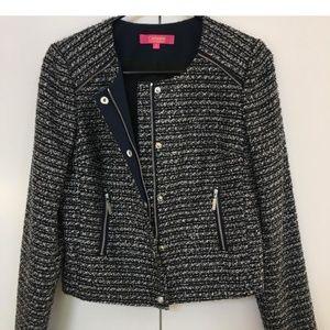 Catherine Malandrino Cropped Boucle Jacket Size 2